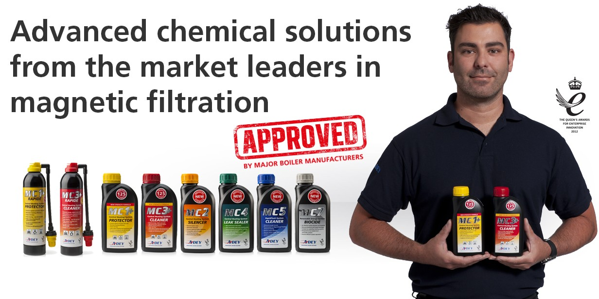 Fastest growing range of chemicals for better protection of you boiler